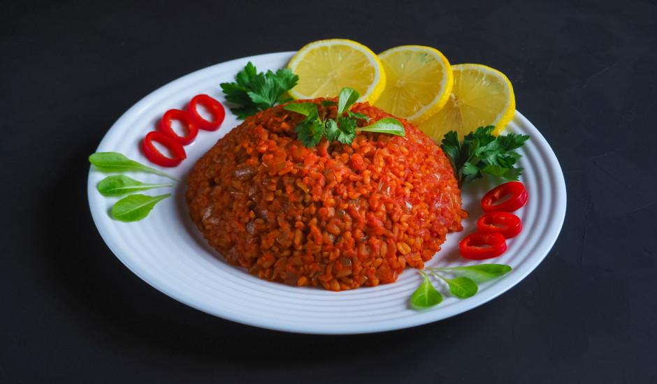 Bulgurs libāņu gaumē