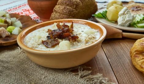 Grūdenis jeb grūbu un kartupeļu biezputra