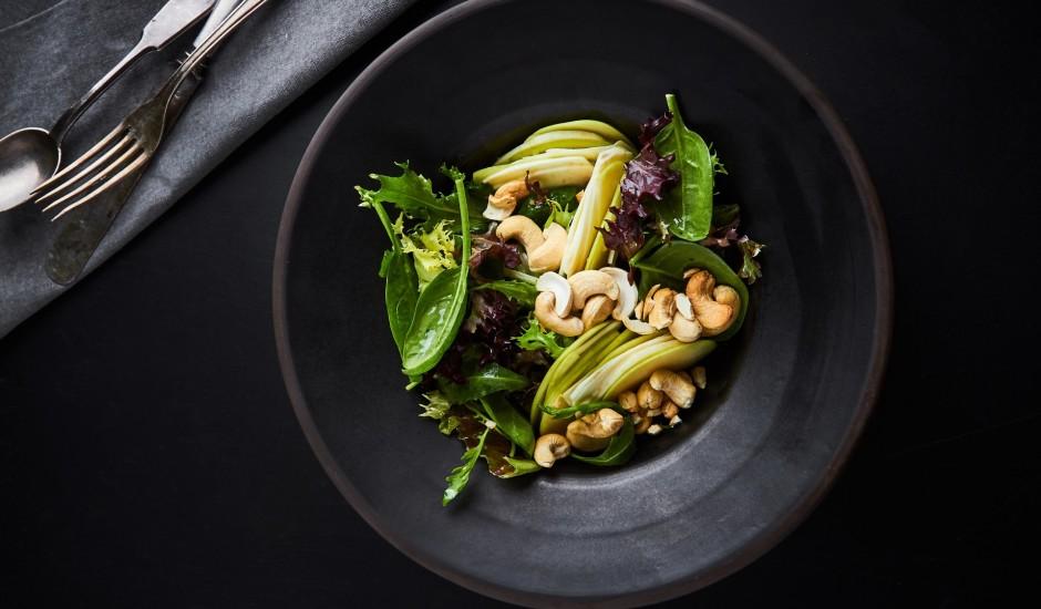 Ābola un selerijas salāti