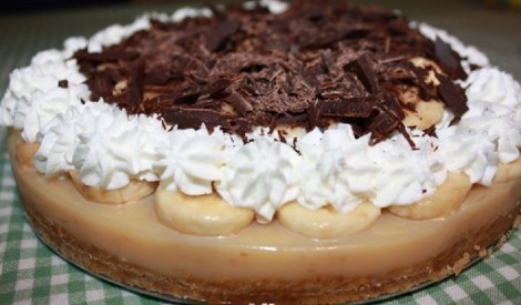 Banoffi torte