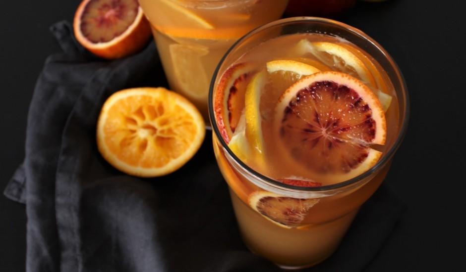 Citrusu - ingvera eila kokteilis