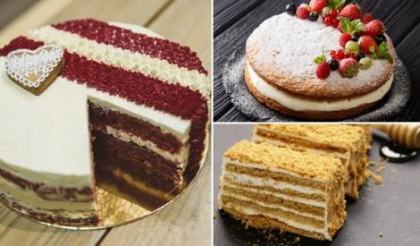 5 lieliskas kūkas Baltā galdauta svētkiem