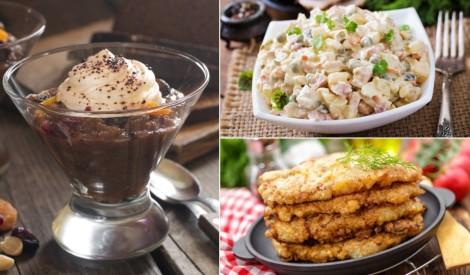 Gludini baltu galdautu un plāno mielastu: 12 receptes ģimeniskām svētku pusdienām