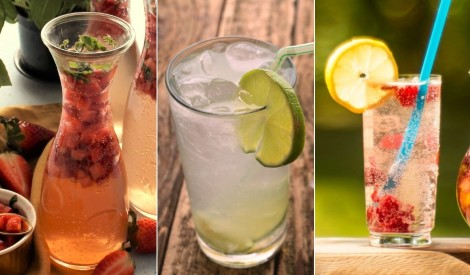 5 atspirdzinoši dzērieni karstajam periodam