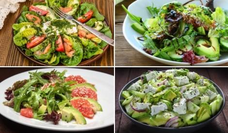 Avokado salātus? 5 gardas un svaigas receptes
