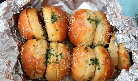 Garšvielu maize folijā