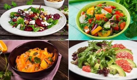 Tveices  nogurušajiem - svaigi salāti atvēsinošām maltītēm