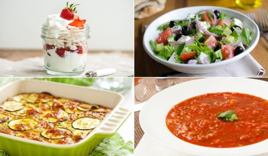Ko celt galdā šonedēļ? Svaigi salāti, sapņains deserts un kārtīgi pamatēdieni