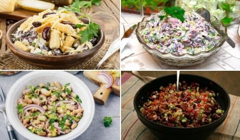Ātrām un gardām maltītēm: pupiņu salātu recepšu izlase