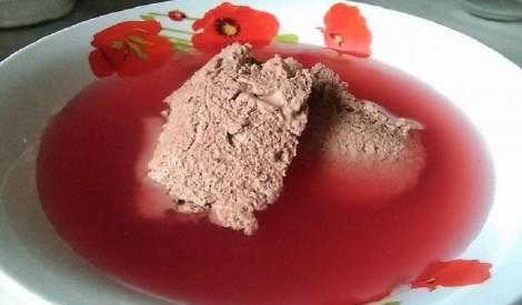 Bērnības garša: kakao krēms ar ķīseli