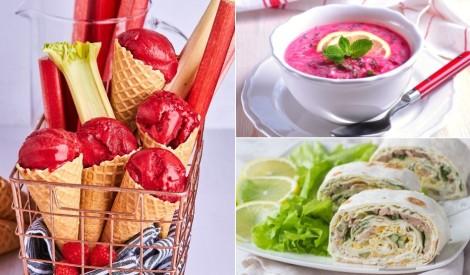Ēdienkarte tveices laikam: ar ko mieloties karstajās dienās?