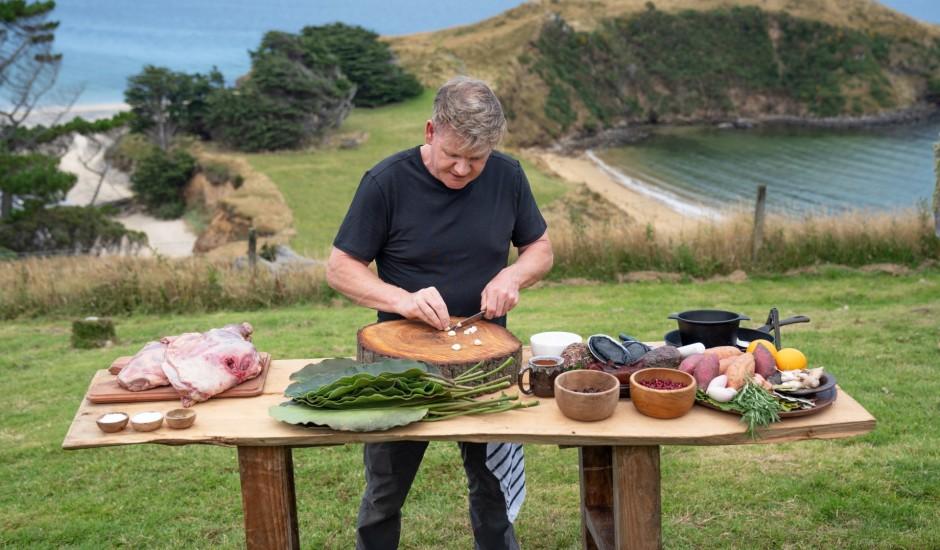 No Aļaskas līdz Jaunzēlandei: Gordona Remzija garšas ceļojums