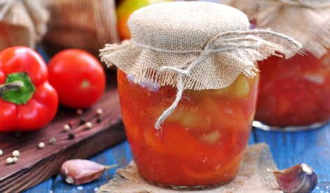 Konservēta paprika tomātu sulā