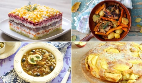 Rudenīga ēdienkarte visai nedēļai!