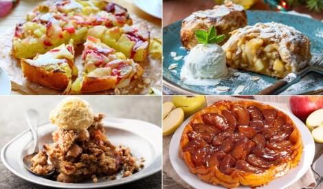 Iespējams, garšīgākās ābolu kūkas - TOP 12