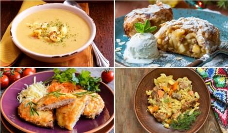 Atvadāmies no septembra ar garšu: ēdienkarte nedēļai