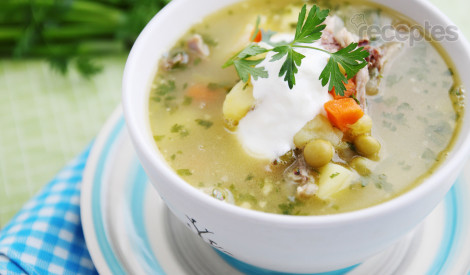 Kabaču - kartupeļu zupa