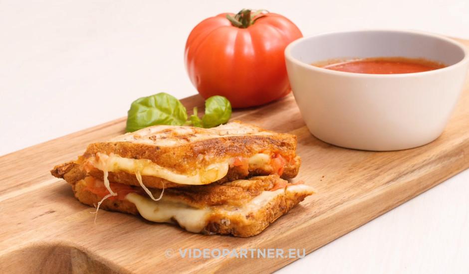 Grilēta siera maizīte