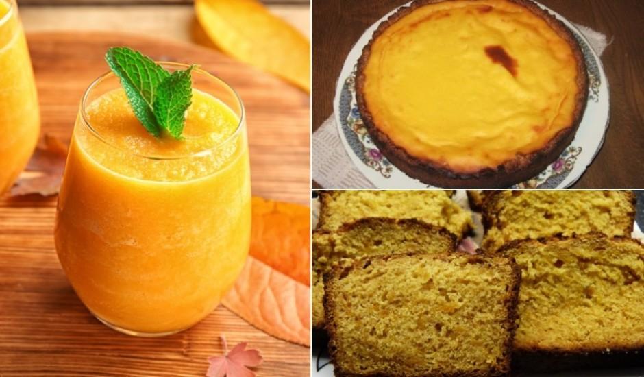 Ķirbja saldumiņi: kūkas, kēksi, cepumi un deserti