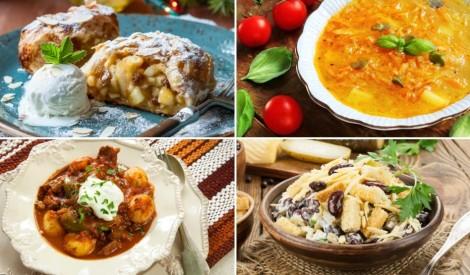 7 receptes garšīgai nedēļai: plānojam ēdienkarti!