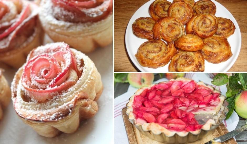 Gardumi no kārtainās mīklas: 12 saldas receptes