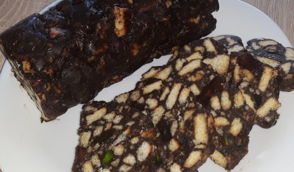 Saldā šokolādes desa