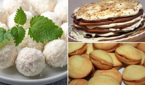 Saldummīļu sapnis: kūkas un deserti ar iebiezināto pienu