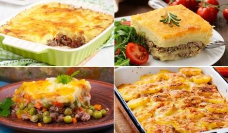 Izcilām maltītēm: sātīgi kartupeļu sacepumi ar gaļu