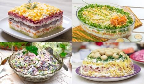 Iecienītākie salāti garšīgiem svētkiem!