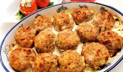 Gaļas - griķu bumbiņas