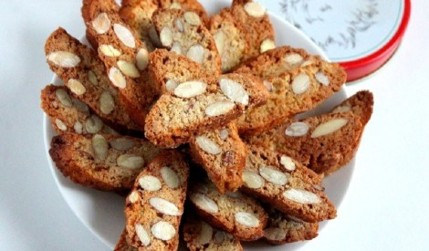"""Itāļu """"biscotti"""" cepumi Cantucci"""