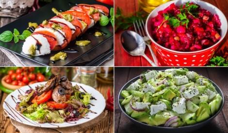 Vieglākai svētku maltītei: salāti bez krējuma un majonēzes