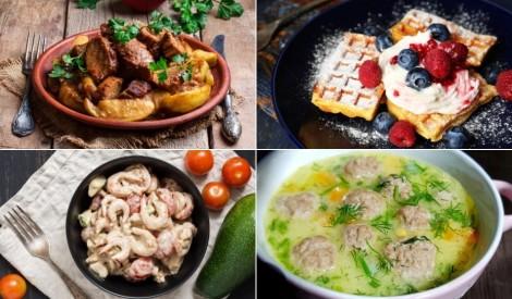 Garšīgai nedēļai: daudzveidīgas receptes katrai dienai
