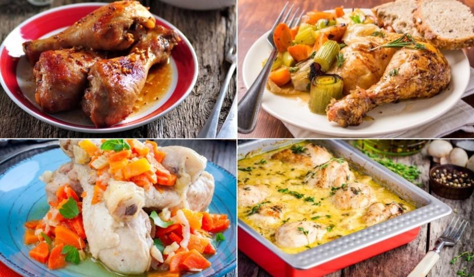 Drīkst ņemt arī rokā: daudzveidīgas vistu stilbiņu gatavošanas receptes