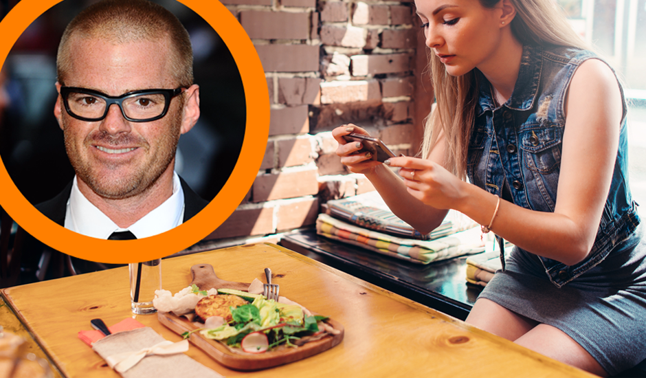 Hestons Blūmentāls kritizē tos, kas restorānos fotografē ēdienu. Kāpēc?