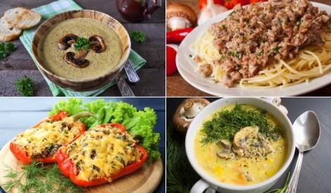 Gatavojam šampinjonus: zupas un pamatēdieni