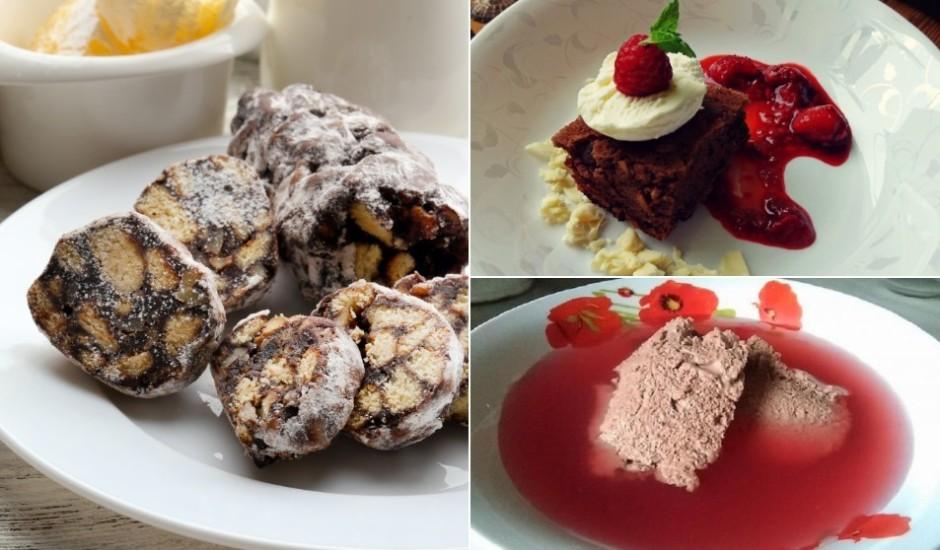 Kakao: grēcīgi gardu kūku, kēksiņu un desertu izlase