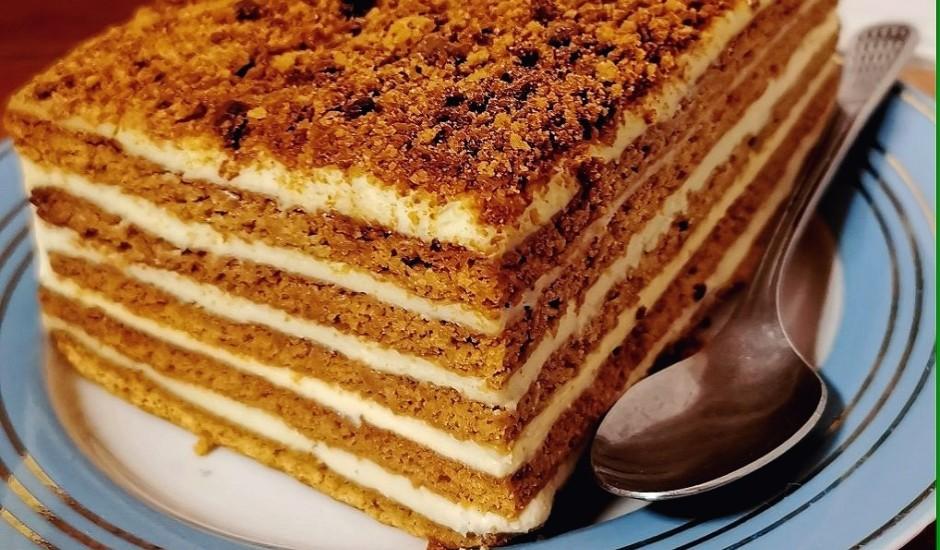 Saimnieces medus kūka
