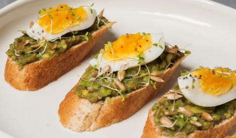 Avokado - olu maizītes