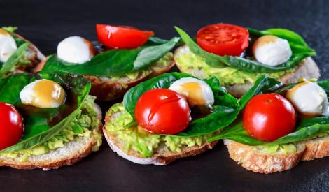 Veselīgās uzkodu maizītes