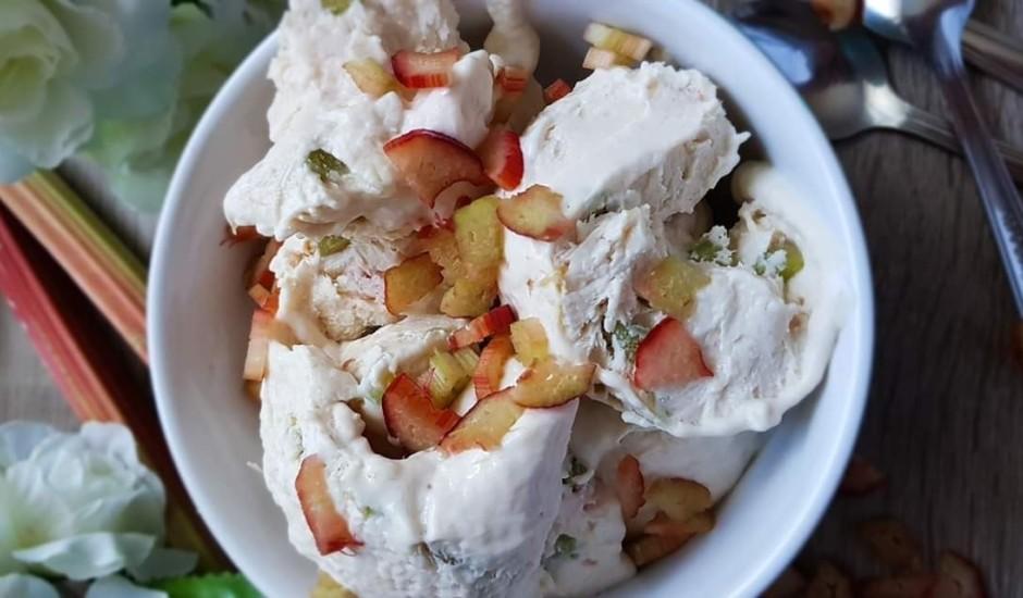Rabarberu saldējums