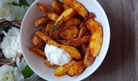 Kartupeļu daiviņas cepeškrāsnī