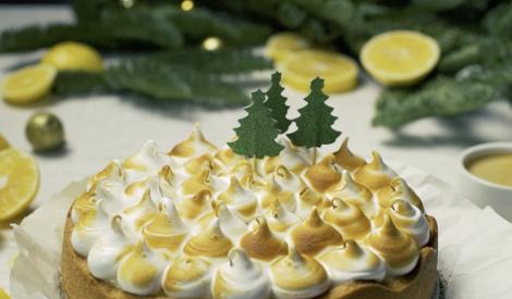Citronu tarte ar itāļu meringu