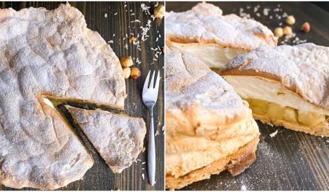 Meringa ābolu kūka