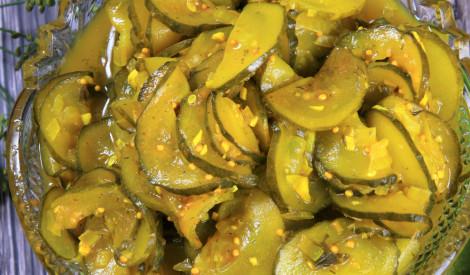 Kurkuma gurķi